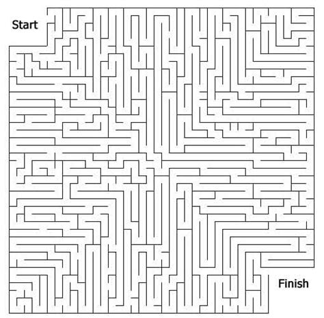 6 best images of big printable mazes free printable maze page print your free maze at allkidsnetwork com