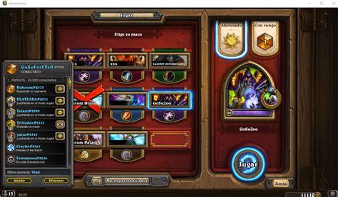 hearthpwn decks s24 1 186 legend eu quot gosuzoo quot hearthstone decks