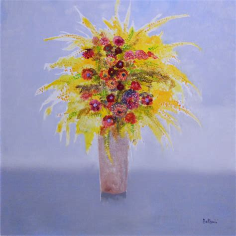 quadri con vasi di fiori quadro di lido bettarini vaso di fiori