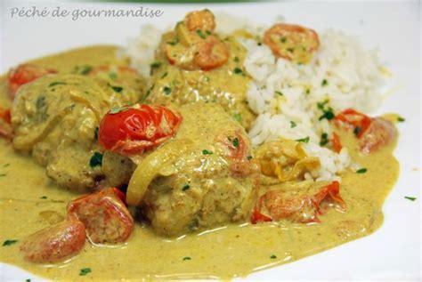 cuisiner la lotte au curry curry de lotte au lait de coco p 233 ch 233 de gourmandise