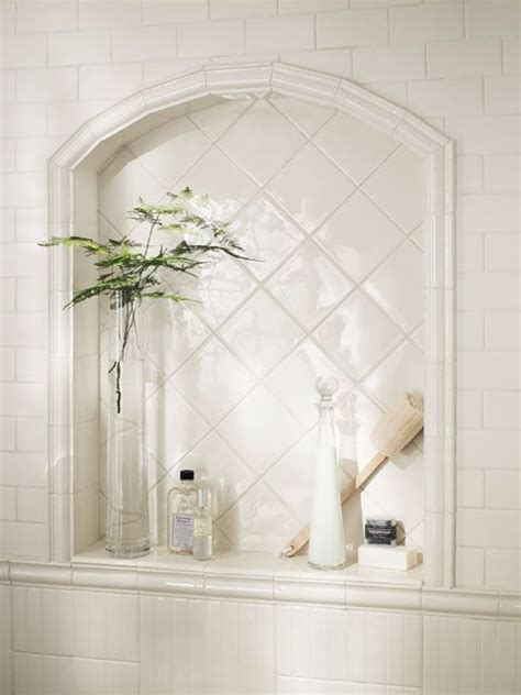 Bathroom Shower Niche Ideas Shower Niche Master Bath Redux