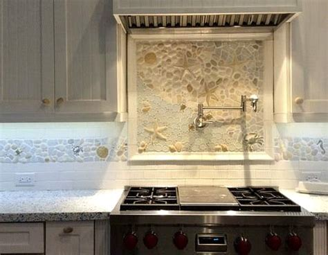 coastal kitchen backsplash ideas with tiles from