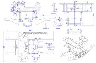 Make A Blueprint For Free Rocking Airplane Kids Toy Plan