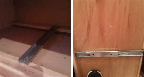 replacement center drawer track swisco