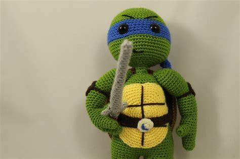 amigurumi tmnt pattern ninja turtles leonardo amigurumi crochet pattern