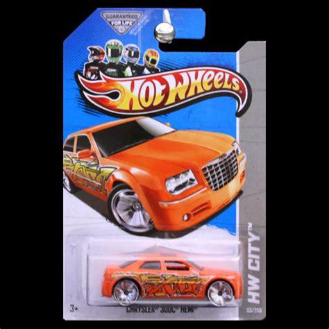 Chrysler 300c Black Colour Tooned Model Hotwheels wheels 2013 hw city chrysler 300c hemi graffiti