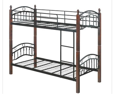 double deck bed dew foam double deck bed frame with 4 quot x 36 x 75 mattress