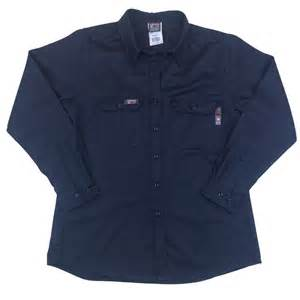 Port Comfort Tx Lapco Ladies Fire Resistant Navy Uniform Shirt Lsfracny