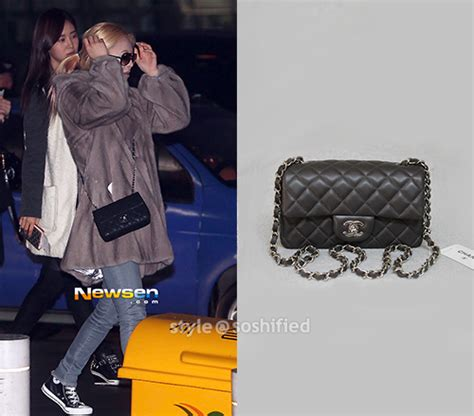 Yoona Satchel Small Black soshified styling snsd comme des garcons play 3 1