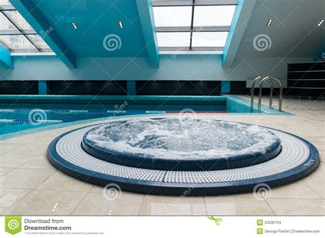 bathtub swimming pool jacuzzi bathtub near swimming pool stock images image