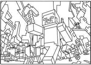 mindcraft coloring pages minecraft coloring pages