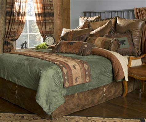 northern pine  carstens lodge bedding