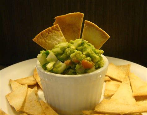 Homemade Tortilla Chips & Guacamole Dip - Dish by Dish Guacamole And Tortilla Chips Healthy