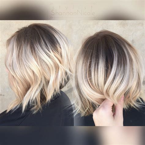 Sombre Short Hairstyles | short blonde hair ombr 233 sombre balayage 3 8