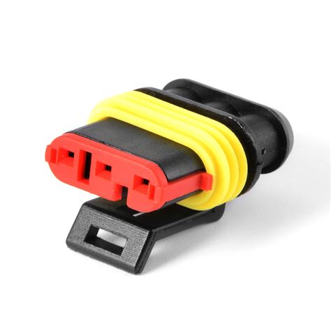 electric fuse wire 2pin 3pin car waterproof electrical terminal wire