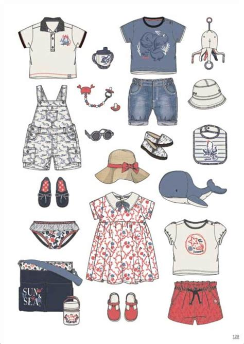 Pantone Spring Colors 2017 by Minicool Baby Spring Summer 2018 Kidswear Styling