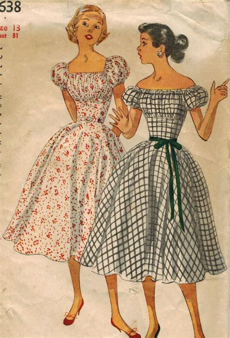 vintage patterns 1950s a 1950s sewing pattern www imgkid com the image kid has it