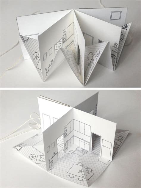 Origami Pop Up Book - origami popup book tutorial paper kawaii