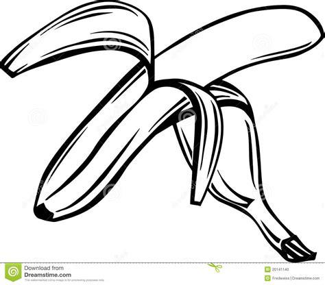 Banana Peel Outline by Banana Illustration Stock Photo Image 20141140