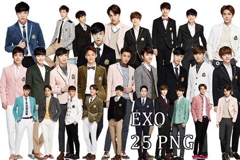 exo wallpaper pack exo png pack ivy club 2014 part 6 by kamjong kai on