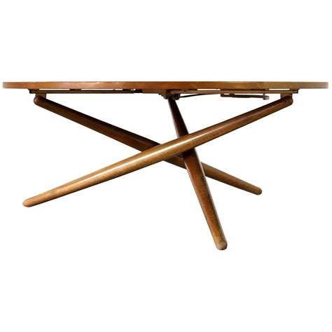 Coffee Table Height Height Adjustable Coffee Table By Jurg Bally For Wohnhilfe 1951 At 1stdibs