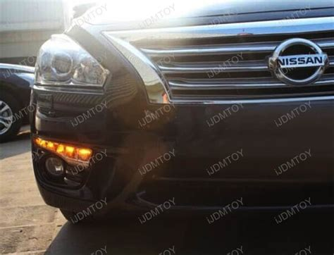 how to turn off daytime running lights nissan rogue nissan altima switchback led daytime running lights w