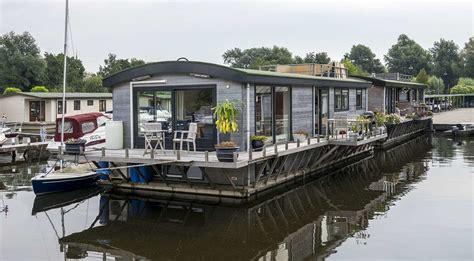 ligplaats woonboot te koop watervilla te koop kortenhoefsedijk 205 183 woonboot te koop