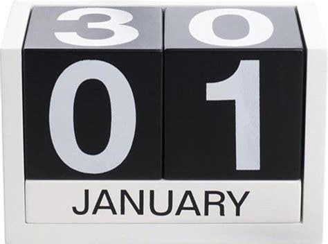 Threesix Five Perpetual Calendar Modern Desk Modern Desk Calendar