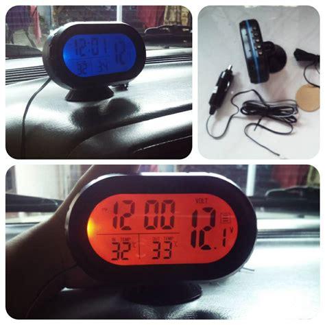 Jam Thermometer Digital Mobil T1910 5 jual voltmeter thermometer jam digital vst7009v 4 in 1 blendung pulsa