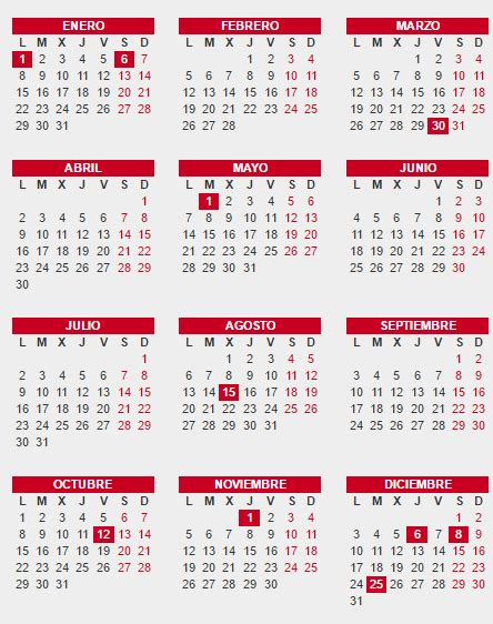 Calendario Colombia 2017 Y 2018 Calendario Laboral 2018 Espa 241 A Calendario Con Feriados