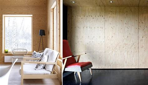 Plywood Interior Walls by Plywood Walls Build Materials Better Living Through