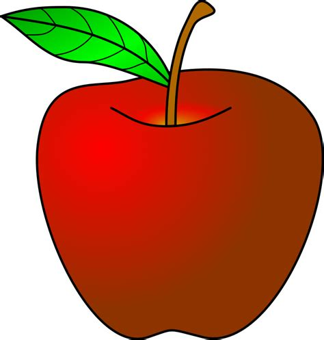 apple drawing clipart clipartxtras clipart apple