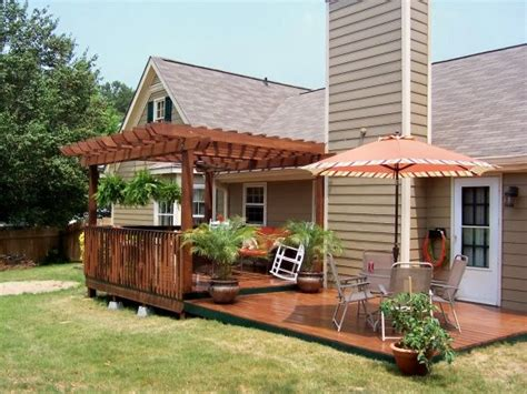 25 best ideas about patio decks on backyard