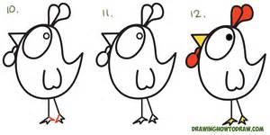 easy rooster drawing www pixshark com images galleries