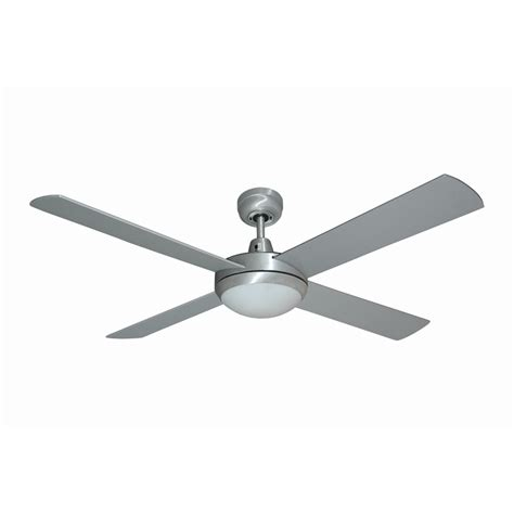 mercator 1300mm grange ceiling fan silver
