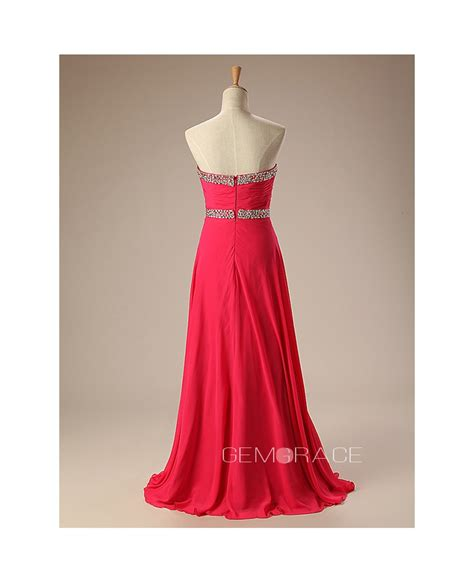 photos of trendy styles with chiffon trendy sequined sweetheart long chiffon prom dress