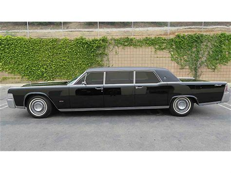 Executive Limousine by 1965 Lincoln Continental Executive Limousine By Lehmann