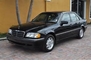 Mercedes C230 1997 1997 Mercedes C230 Black On Black Great Car Just