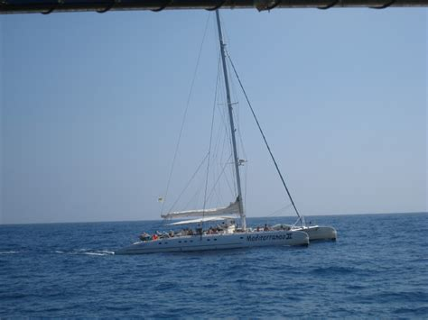 catamaran boat trips paphos cyprus holiday