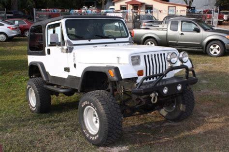 Jeep Wrangler White Hardtop 1987 Jeep Wrangler Hardtop For Sale Jeep Wrangler 1987