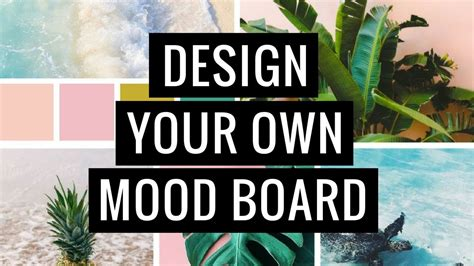 canva moodboard how to design your own mood board if you re not a designer