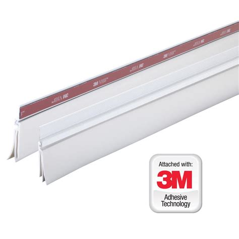 Garage Door Weather Stripping Home Depot King E O 3 In X 108 In Top And Sides Vinyl Garage Door Weather Gr9 The Home Depot