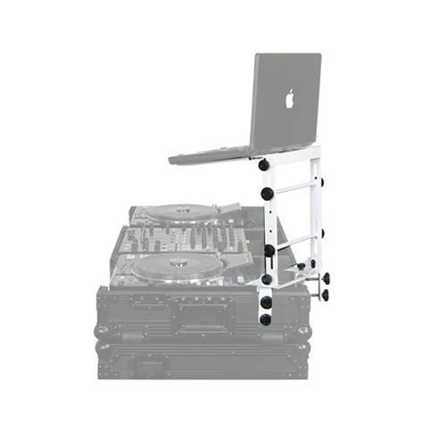 White L Stand by Odyssey Lstandmwht White Laptop Gear Stand Idjnow