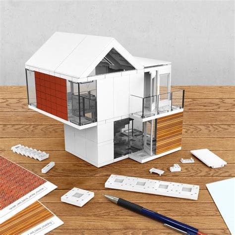 house models to build a slick architectural model kit with infinite components