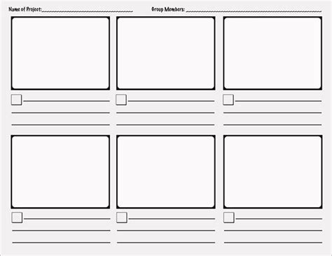printable book template word comic storyboard template 10 free sle exle
