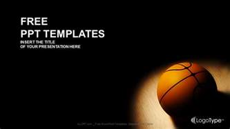 basketball powerpoint template free basket sports powerpoint templates