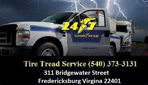 tire tread service  tire store  fredericksburg goodyear tires