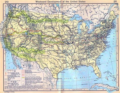 map of roads in usa united states map 1900
