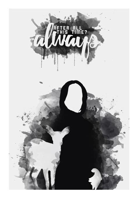 Casing Samsung A7 2017 Harry Potter Severus Snape Quote Cus severus snape always quote wall artist naeema rezmin postergully
