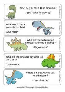 dinosaur joke bookmarks 1
